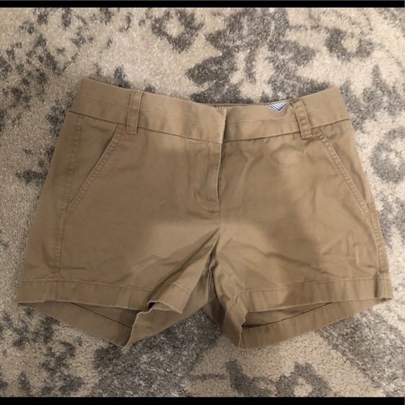 J. Crew Pants - Jcrew chino tan shorts